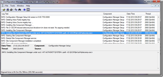 Gi_Blog - Open SCCM 2012 logfiles with new logviewer