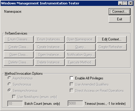 Gi_Blog - Check if WMI works correctly with gpupdate or wbemtest