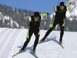 2 cross country skiing - skaters